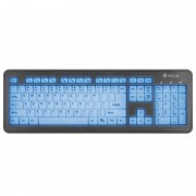 Keyboard NGS Slim Backlit USB (BLUELAGOON)
