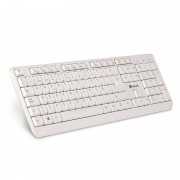 Teclado NGS Multimedia SPIKE USB 12 Teclas Blanco