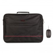 "Briefcase NGS Monray 16""+Optical Mouse Flame (BUREAU KIT)"