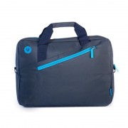 "Briefcase NGS Monray 15.6"" Black/Blue (GINGER BLUE)"