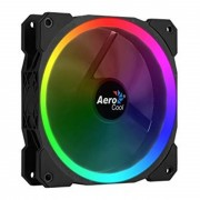Fan Cooler AEROCOOL Orbit 12x12 Iluminacion RGB (Orbit)