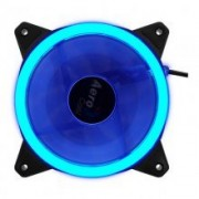 Fan Cooler AEROCOOL 12x12 Led Blue (Rev Blue)