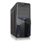 Case ATX NOX sin Power Supply audio HD USB3 Black(NXPAX)