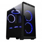 MiniCase ARMOR C21 mATX Gaming 1xUSB Black (511205)
