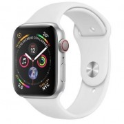 Apple Watch S4 44mm Cell Silver ace/Sport Wht MTX02TY/A