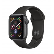 Apple Watch S4 40mm Caja Gris/ Correa Negra (MU662TY/A)