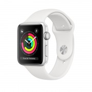 Apple Watch S4 44mm Cell Silv / Sport Blanc (MTVR2TY/A)