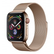 Apple Watch S4 44mm Cell Acero Oro/Loop Oro (MTX52TY/A)
