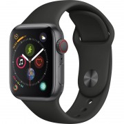 Apple Watch S4 44mm Cell Negro/Sport negro (MTX22TY/A)