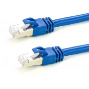 EQUIP Network cable U/UTP Cat.6 0,5m Blue (EQ625437)