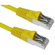 EQUIP Network cable U/UTP Cat.6 0,25m Yellow (EQ625463)