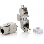 EQUIP Kit 8Uds Conector hembra RJ45 Cat.6 (EQ767221)