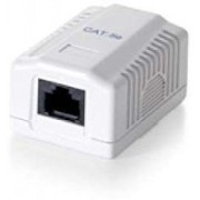 EQUIP ROSETA D.SUPERFICIE CAT.5e 1HEMBRA RJ45(EQ235111)