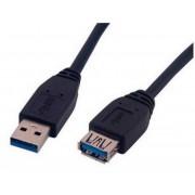 Nanocable USB 3.0 Tipo A/M-A/H 1m (10.01.0901-BK)