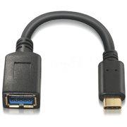 Nanocable USB 3.1 Tipo USB-C/M-A/H 15cm (10.01.4201)