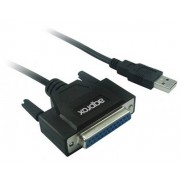 Adaptador de cable Approx USB-Paralelo Db25 M-H(APPC26)