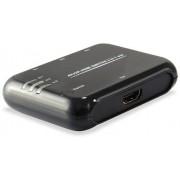 EQUIP Switch 3entradas 1salida HDMI con mando(EQ332721)