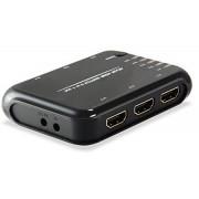 EQUIP Switch 5entradas 1salida HDMI con mando(EQ332722)