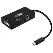 Nanocable USB-C/M-VGA/DVI/HDMI/H Negro (10.16.4301-BK)