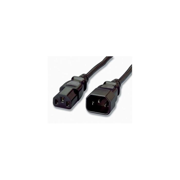 EQUIP Cable Alimentación IEC M-H 1.8m (EQ112100)