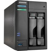 """NAS Asustor 2Sata2/3 2.5""""/3.5"""" 3USB3 HDMI (AS6102T)"""