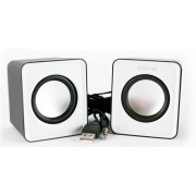 Speakers APPROX Multimedia 2.0 5W Blanco (APPSPX1W)