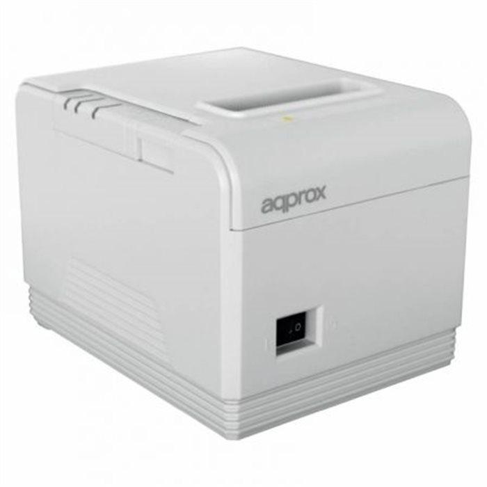 Impres. Térmica APPROX USB RS232 Blanco (APPPOS80AM3WH)