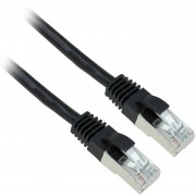 EQUIP Lan cable U/UTP Cat.6 0,25m black (EQ625453)