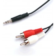 Nanocable Audio Stereo 3.5/M-2xRCA/M 5M (10.24.0305)