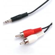 Nanocable Audio Estéreo 3.5/M-2xRCA/M 1.5m (10.24.0301)