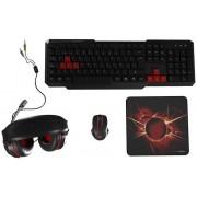 Kb+Mouse Mars Gaming + Headsets + Matt (MACP1)