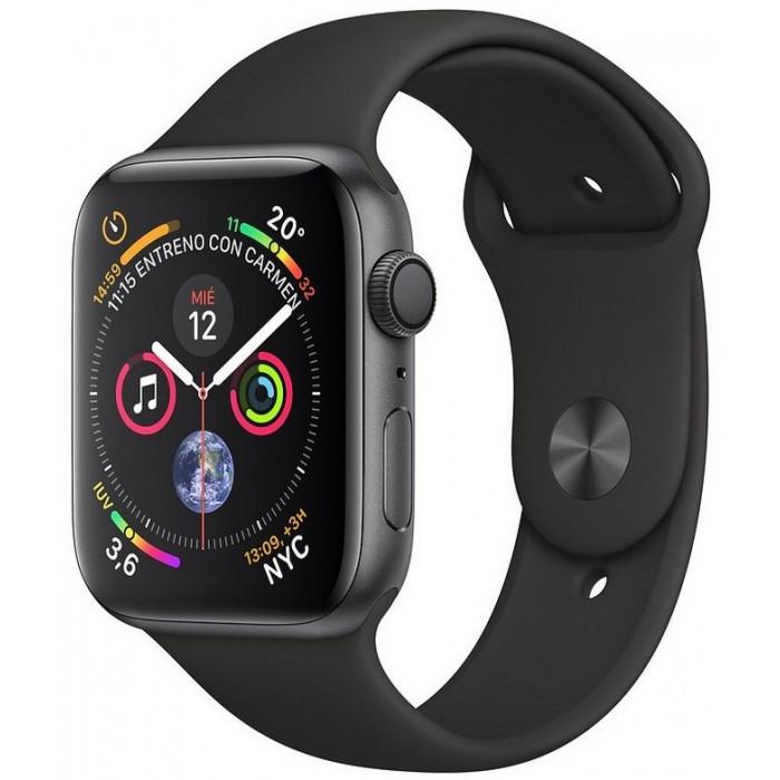 Apple Watch S4 44mm GS/Sport negra (MU6D2TY/A)