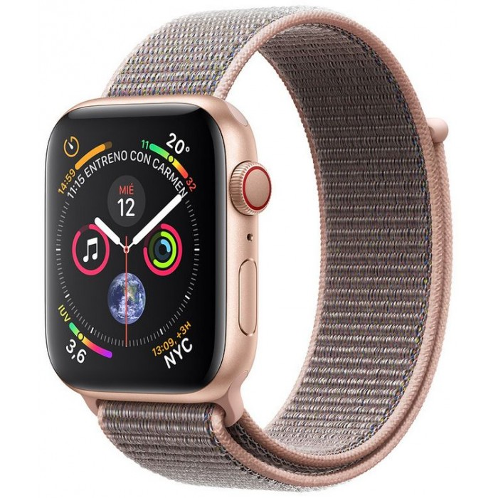 Apple Watch S4 40mm Cell Oro / Loop Rosa (MTVH2TY/A)