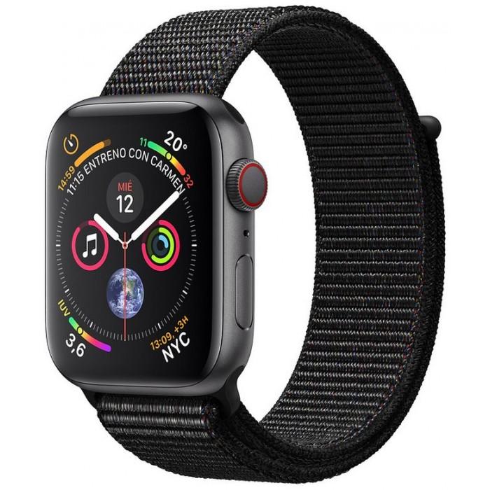 Apple Watch S4 44mm Cellular GS /Loop Negro (MTVV2TY/A)