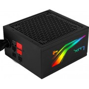 Power Supply AEROCOOL LUX RGB 750W 80+ Bronze (LUXRGB750M)