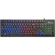 Teclado NGS Gaming Multimedia Luces LED (GKX-300)
