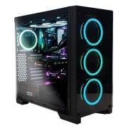 Torre ABYSM Ebony ATX/mATX/ITX RGB USB3 Negro (812103)