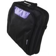 """Briefcase APPROX 15.6"""" Black/Púrpura (APPNBCP15BP)"""