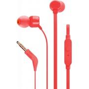 Auriculares+micro JBL binaural Rojo (T110RED)