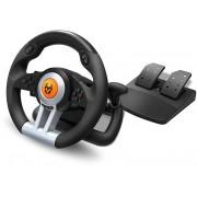 Volante + pedales KROM K-Wheel (NXKROMKWHL)