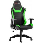 Chair Mars Gaming MGC218 Black/Verde (MGC218BG)