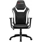 Chair Mars Gaming MGC218 Black/White (MGC218BW)