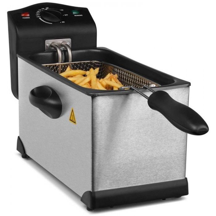 Medion Stainless Steel Fryer 3L 2000W (18084)