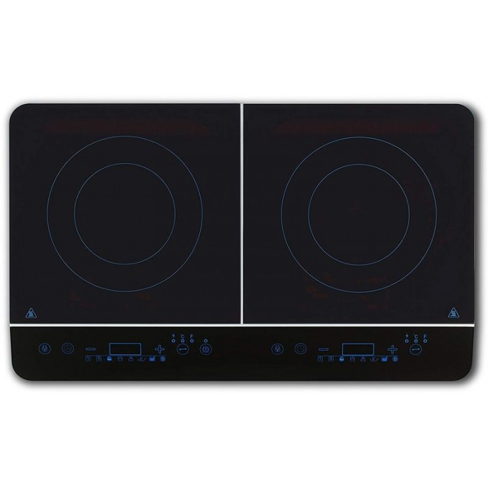 Electric Kitchen Medion Induction Double 3500W 240ºC (18185)