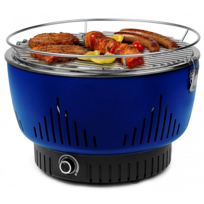 Grill Table Medion Charcoal Vegetable Blue (17700)