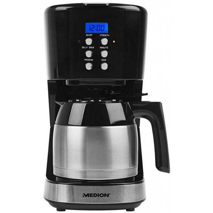 Medion 900W Anti-drip Coffee Maker 1L (12Cups) (18088)