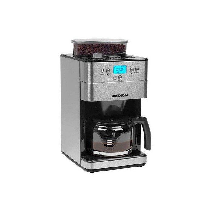 Medion Electric Coffee Maker with Grinder 1000W (16893)