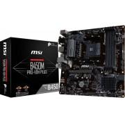 MSI B450M PRO-VDH PLUS:(AM4) 4DDR4 VGA DVI HDMI mATX