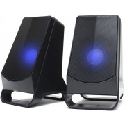 Altavoces NGS Multimedia 2.0 10w USB Led Blue (GSX-205)