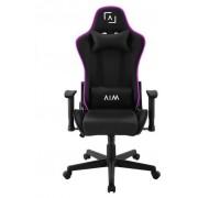 Silla Gaming AIM Con Iluminacion Led RGB Negro (AIMCH)